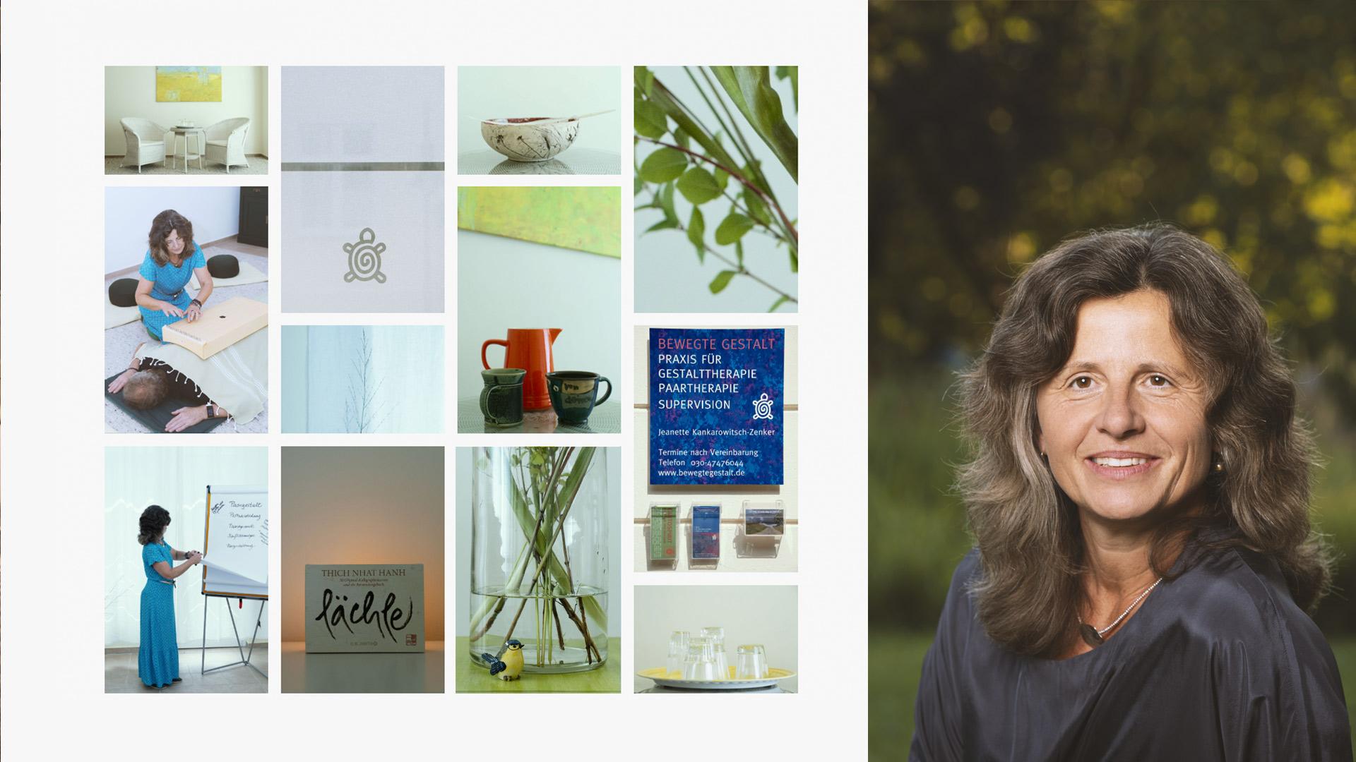Unternehmensfotografie und Business Portrait für Bewegte Gestalt