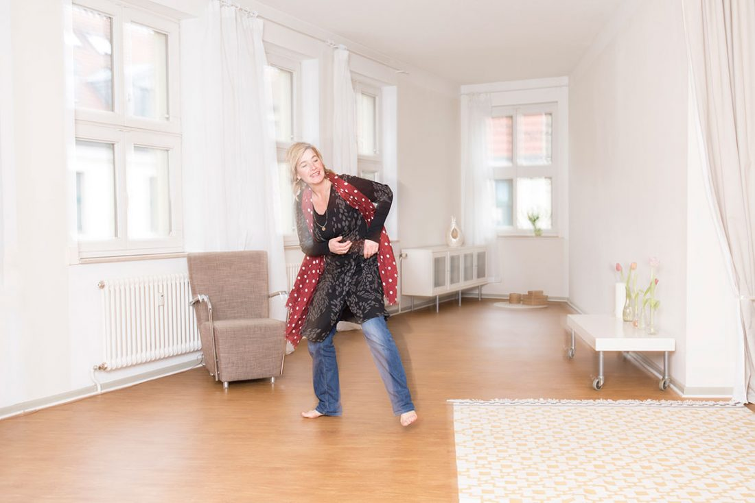 Michaela Rackelmann -Fotos in den Praxisräumen in Potsdam